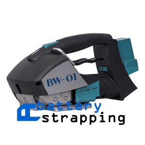 "BW-01 11-16mm (7/16"" to 5/8"") battery banding strapping tool for PET and PP strap w/ Battery & Charger"