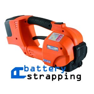 battery banding machine PET and PP straps 10-16 mm vibration welding (heating by friction)