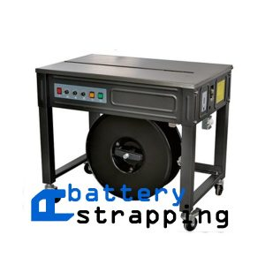 "HIPO semi-automatic strapping machine 5-15mm (3/16"" to 9/16"") banding machine for plastic PP strap price"